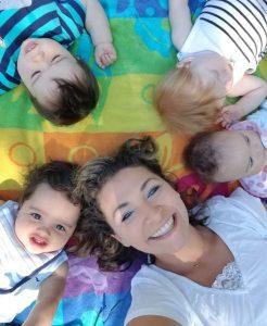 amanda and the babies