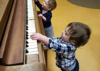 Babies Playing the Piano