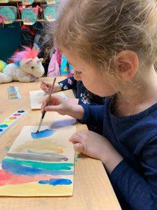 Cora Watercoloring
