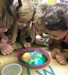 transitional kindergarten science